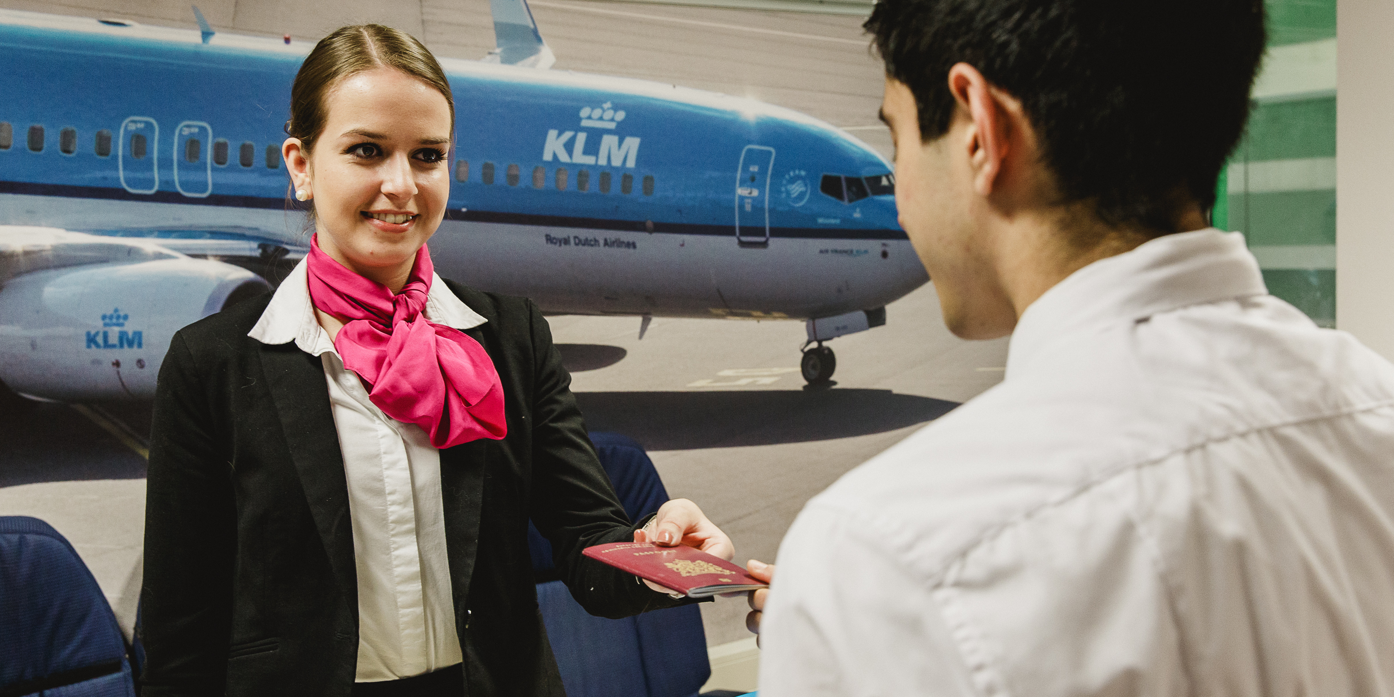 stewardess student